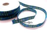4 m Vichy Karoband blau/grün/rot/gelb