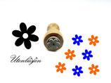Blüte, Blume - mikroStempel