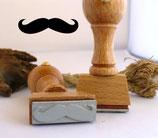 Mustache, Schnurrbart - Motivstempel