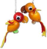 Art.Nr. SF 114 Schwingfigur Papagei