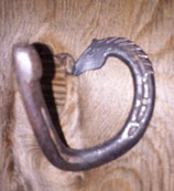 Horseshoe Hook with Horse Head
