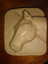 Goat's Milk & Honey Soap with * Green Clay * - Horse Head