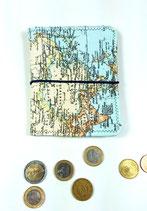"""Geldbörse """" Weltkarte"""""""