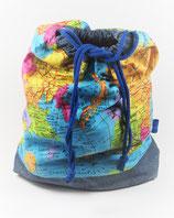 Projektbeutel Weltkarte