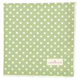 Greengate Stoffserviette Spot pale green