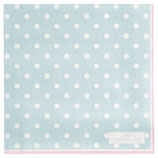 Greengate Papierservietten Spot pale blue small