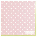 Greengate Papierservietten Spot pale pink small