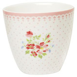 NEU  Greengate Latte cup Sinja white