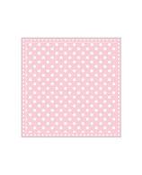 Papierservietten rosa/Punkte