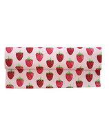 Tischläufer Erdbeeren rosa 35x120cm