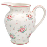 Greengate Creamer round Marley withe