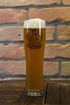 Kraftpaule Bierglas - Weizenglas