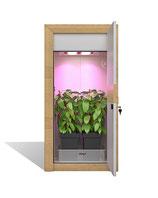 urban Chili Growbox Komplettset - montiert - nature line Growschrank Set