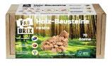 FabBrix Wooden Box Set Holzesteine FB-1813