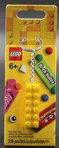 Jubel Taschenanhänger  LEGO® 853989 Schlüsselanhänger 2x6 Stein Gelb
