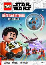 LEGO® Star Wars Rätselabenteuer mit Rebellen inkl. Minifigur Biggs Darklighter