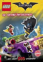 LEGO®The Batman Movie - Ein Batman-Rätselspaß mit über 200 Stickern