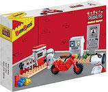 BanBao 7532 -  Snoopy Motorrad Werkstatt Peanuts OVP
