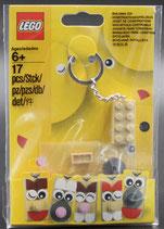 Kreativer Taschenanhänger  LEGO® 853902 Schlüsselanhänger 2x4 Stein Tan