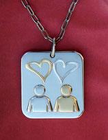 Médaille pendentif City Lovers