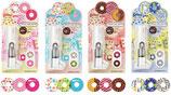 """KOKYUO Donut-""""Stempel"""" inkl. 90 Klebestreifen mit je drei MOTIVEN"""