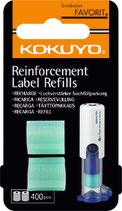 KOKUYO stamp- REFILL 400 pcs transparent OR 90 pcs with themes