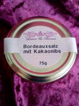 """""""Bordeauxsalz mit Kakaonibs"""" 75g"""