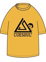 CUESOUL×325 コラボTシャツ イエロー×ブラック