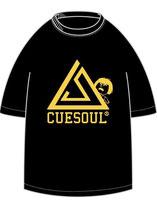 CUESOUL×325 コラボTシャツ ブラック×イエロー