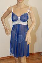 Blue Heidi Negligee Set 36/S
