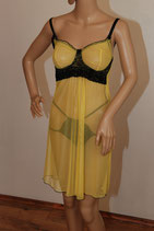 Yellow Heidi Negligee Set 36/S