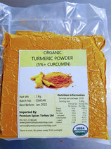 Turmeric Ground Organic 5% Curcumin