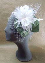 duoleaf Brautzauber waldgrün & weiß