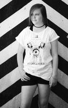 """Damen """"Hydrant"""" - Shirt/ Tunika weiß oder schwarz"""