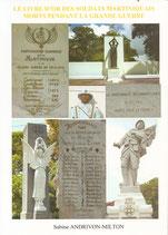 Le livre d'or des soldats martiniquais morts pendant la Grande Guerre