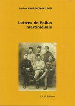 Lettres de Poilus martiniquais