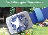 Gutschein für Gürtelschnallen- und Gürtelbau-Kurs