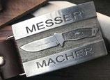"""Gürtelschnalle """"MESSER MACHER"""""""