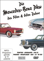 "DVD ""The Mercedes-Benz passenger cars of the 50s & 60s"""
