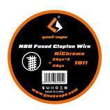 Geek Vape N80 Fused Clapton Wire Draht