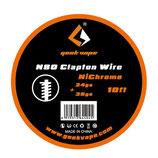 Geekvape N80 Clapton Wire 24/36GA (0.50/0.13 mm) Wickeldraht