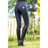 HKM Damen Hochbund Reithose -Miss Blink- Easy Silikon Vollbesatz