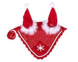 QHP Ohrhaube -Weihnachtsmütze-