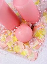 Perlenkette à 5 Stück hellrosa