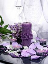 Perlenkette à 5 Stück purple