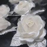 Einzelne Rosen mit Saugnapf (10 Stück)