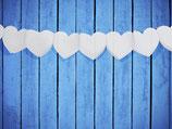volle Herz Girlande