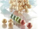 Perlen mit Haselnuss Füllung