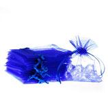 Organzasäckchen - Blau