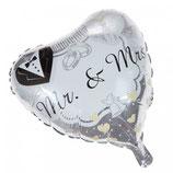 Folien Ballon Mr. & Mrs.